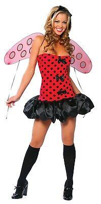 Bug Halloween Costumes Adults (Sexy Roma Halloween Adult Lady Bug Costume w)