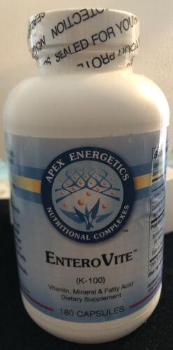 Apex Energetics EntriVite  K-100 180 capsules , sealed in package, best by 08/22
