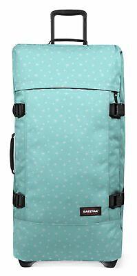 EASTPAK Tranverz L Reisetasche Trolley Tasche Seaside Stars Blau Weiß Neu