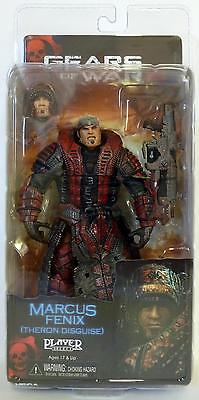 Marcus Fenix Theron Disguise Gears Of War 2 Video Game 7 Inch Figure Neca 2009