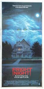 FRIGHT NIGHT GENUINE ORIGINAL CINEMA RELEASE DAYBILL MOVIE POSTER