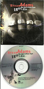 BRYAN-ADAMS-Rock-Tracks-RARE-SAMPLER-5TRX-PROMO-Radio-DJ-CD-single-1996