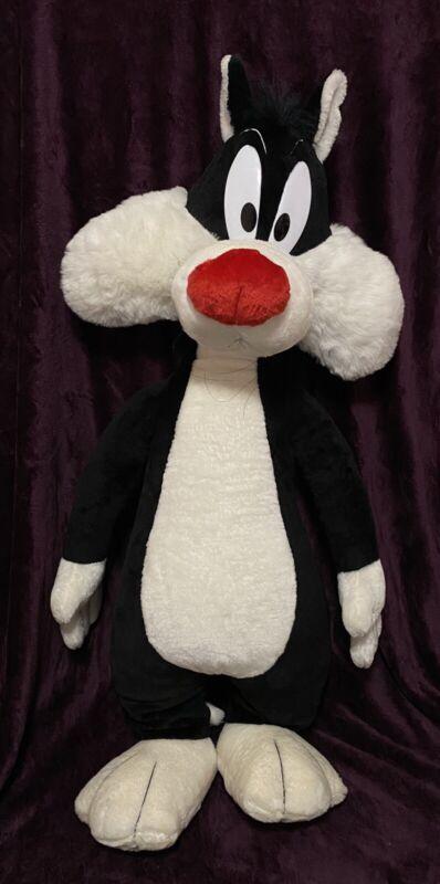 "Looney Tunes Sylvester The Cat Plush 40"""