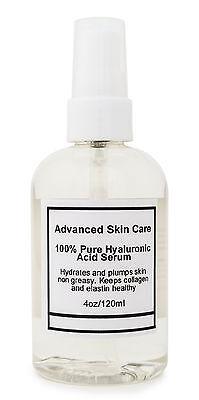100%  PURE HYALURONIC ACID SERUM Firming Collagen 2oz or 4oz pump you chose