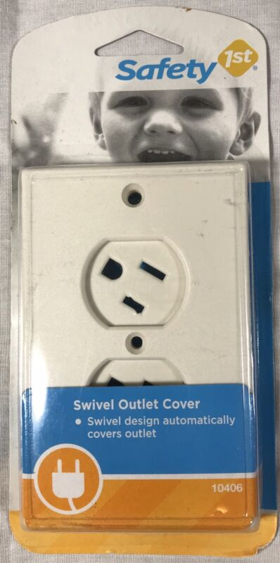 Safety 1st Swivel Outlet Cover - Child Safe Outlet