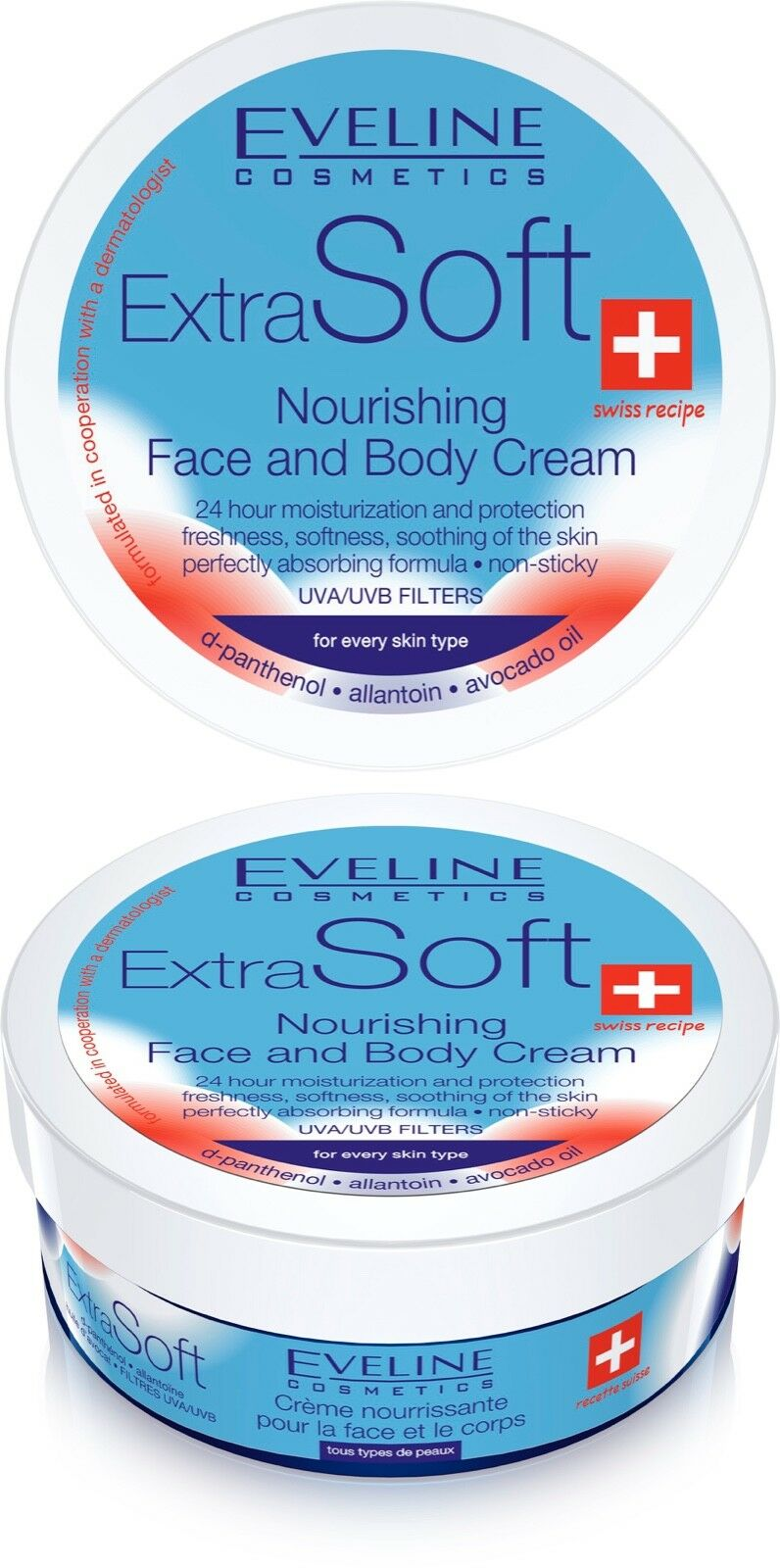 Extra Soft Nourishing and Moisturizing Face and Body Cream For all skin types Bath & Body