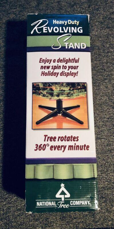 National Tree Company**Heavy Duty Revolving Tree Stand**NIB