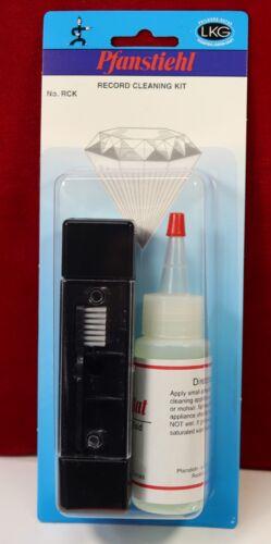 Black Velvet Record & Stylus Brush Cleaner Kit Pfanstiehl RCK w/ Fluid NEW Vinyl