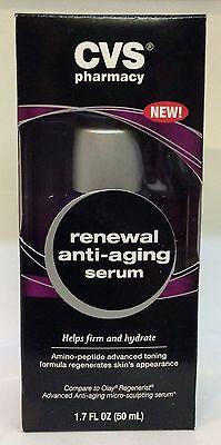 Cvs Pharmacy Renewal Anti Aging Serum Amino Peptide Toning Regenerate 1 7 Fl Oz