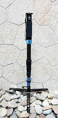 Sirui P-424SR P-424S Carbon Fiber Monopod w/Mini Tripod & Case --> USA shipping