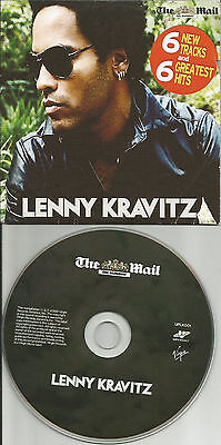 LENNY KRAVITZ BEST of  Europe Made LIMITED NEWSPAPER PROMO CD USA seller (Lenny Kravitz Best Of)