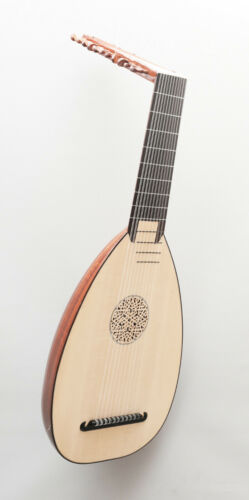 11 Course Baroque Lute by SANDI - DIRECT SALE FROM LUTHIER