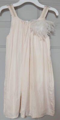 BUMBLE GIRLS DRESSY SUMMER DRESS FLAPPER STYLE BLUSH PINK SLEEVELESS - Flapper Girl Attire