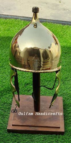 Montefortino-helmet Larp/Reenactment made up of 18 gauge brass