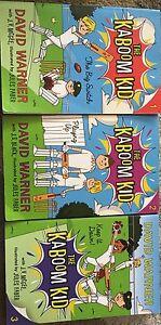 3 Kaboom Kid books For SALE Randwick Eastern Suburbs Preview