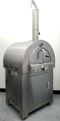 New Stainless Steel Outdoor LPG Propane Gas Pizza Oven Range Grill BBQ