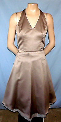 Bari Jay Halter Top Special Occasions Dress Size 6 A-line Skirt