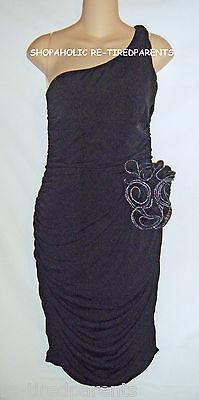 Ruby Rox – Dress - Designer – One Shoulder - Black – Jr Size 15 – $60