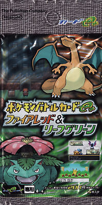 Pokemon Japanese E-Series BATTLE FIRE RED LEAF GREEN Booster Pack Ultra Rare for sale  Shipping to India