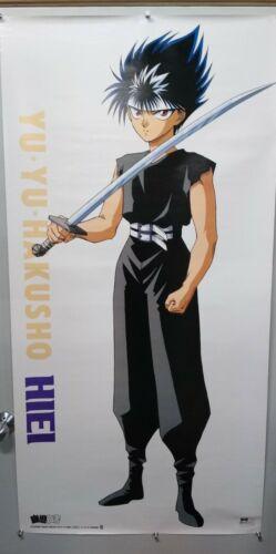 """YU YU HAKUSHO """"HIEI"""" Anime Life-Size Door Poster  RARE"""