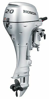 """New 20 hp Honda Outboard 20"""" shaft electric start model BF20D3LHT free shipping"""