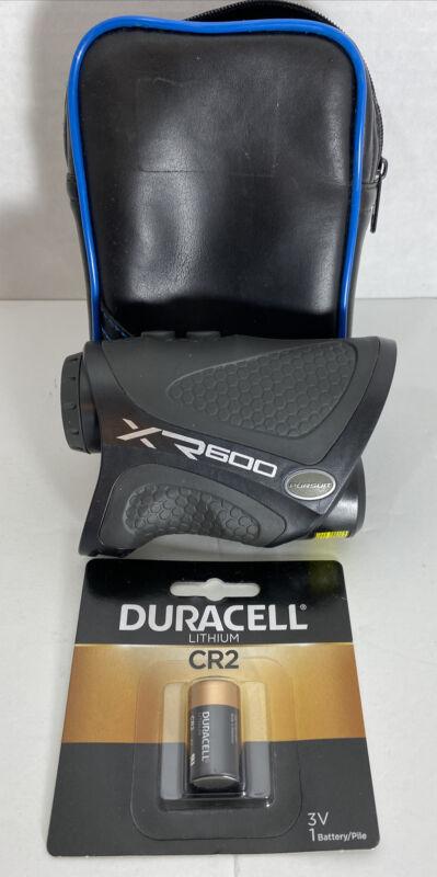 WGI Innovations Pursuit Laser Rangefinder XR600BB Hunting Golf W/New Battery