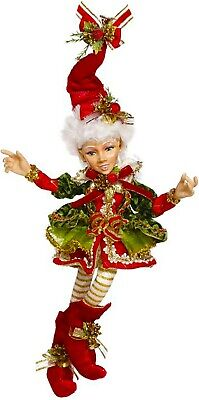 """[Mark Roberts Elves - Northpole Holly Belle Girl Elf  51-96998 Small 13""""</Title]"""