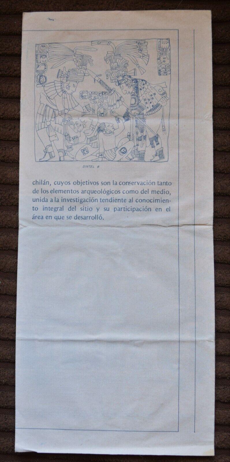 Yaxchilan Mini Guia - $1.00