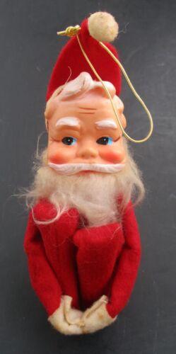 VTG Christmas Santa Elf Pixie Knee Hugger Ornament Figurine Decoration Japan