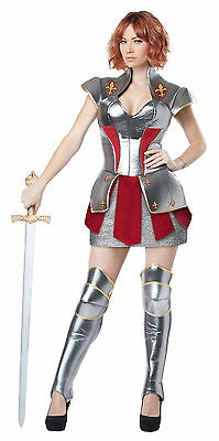 Joan of Arc Historical Heroine Women Warrior Adult - Historical Women Costume