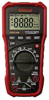 Dawson Ddm230b Auto-ranging Digital Multimeter With Usb Interface