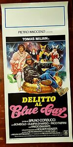 D126-LOCANDINA-DELITTO-AL-BLUE-GAY-B-CORBUCCI-TOMAS-MILIAN-1-ED-ITA-1984