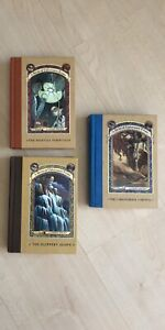 A series Of Unfortunate Events Hardcover Books
