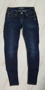 Size 24, 25, 26 Silver, Guess, Parasuco, Brody Jeans
