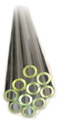 Borosilicate Glass Tubing 6mm D 24 In. L 10-piece Pack