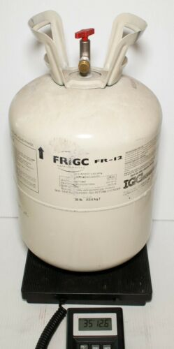 FrigC FR-12 Refrigerant FULL 30 lb Tank R12 Replacement