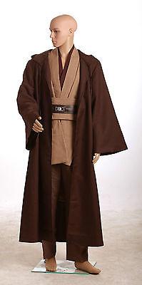 nobi Jedi TUNIC Ver.Standard 2 Kostüm  S-3XL (Star Wars Obi Wan Kostüm)