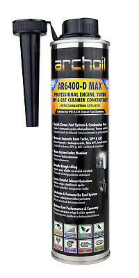Archoil AR6400-D MAX Pro Diesel Engine, Turbo DPF Cleaner Concentrate 400ml