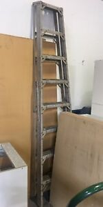 8' folding aluminum step ladder