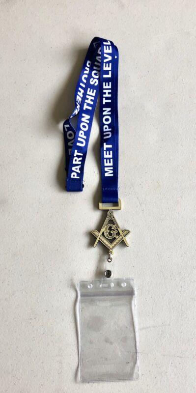 Masonic Lanyard/ ID Holder