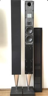Bang olufsen beolab 2500 with playmaker wireless streamer stereo b o beolab 8000 mk2 active loudspeaker fandeluxe Images
