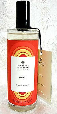 Crabtree & Evelyn NOEL Home Fragrance Room Spray 3.3 oz
