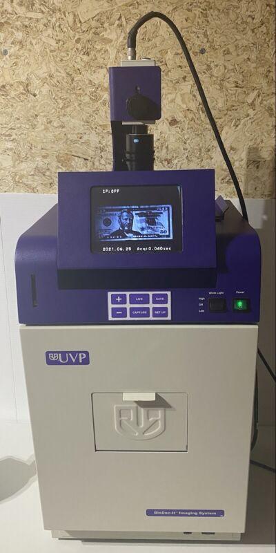 """UVP BioDoc-It Ultraviolet Imaging System 6.4"""" LCD/M-20 Transilluminator"""