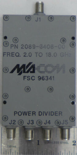 Macom 2089-6408-00 Power Divider