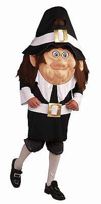 Pilgrim Parade Pleaser - Adult Mascot Costume - - Parade Costumes