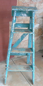 Vintage Small Wooden Ladder Salisbury Park Salisbury Area Preview