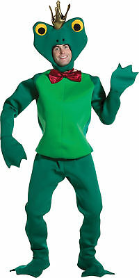 Frog Prince Adult Full Body Costume Headpiece Halloween Dress Up Rasta Imposta (Frog Prince Costume)