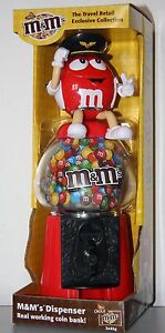 M&M's Spender/Dispenser/Distributeur de bonbons/Coin Bank/Spardose verschiedene: