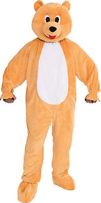 Honey Bear Mascot Adult Mens Costume Nature Animal Funny Theme Party Halloween](Nature Themed Halloween Costumes)