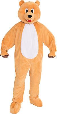 Honey Bear Mascot Adult Mens Costume Nature Animal Funny Theme Party Halloween - Funny Bear Costumes